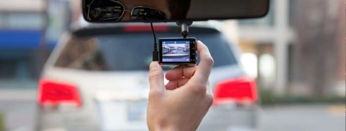 meilleure dashcam caméra tableau de bord embarquée rétroviseur voiture 2020