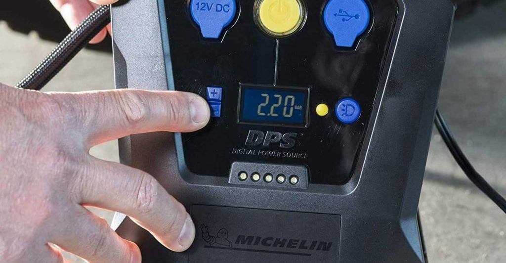 avis test essai compresseur pneus voiture Michelin 12V PORTABLE