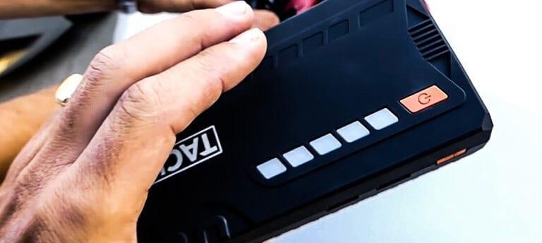 avis test essai booster de batterie chargeur secours démarreur tacklife t6