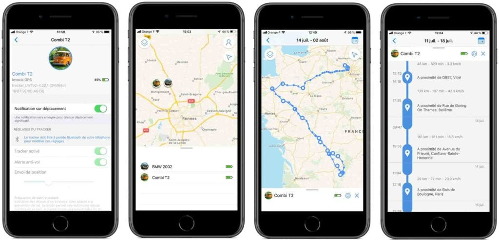 avis test essai traceur GPS invoxia tracker