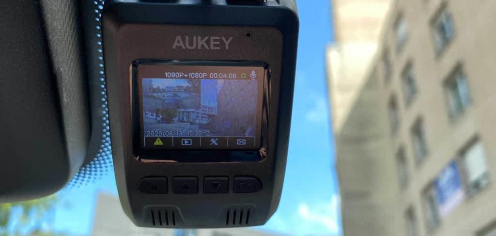 avis test essai caméra embarquée dashcam aukey DR02 D DASH