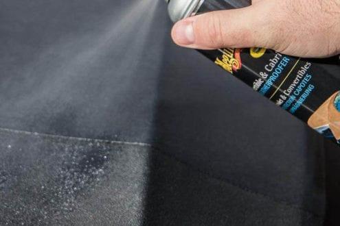 meilleur spray produit imperméabilisant capote cabriolet voiture