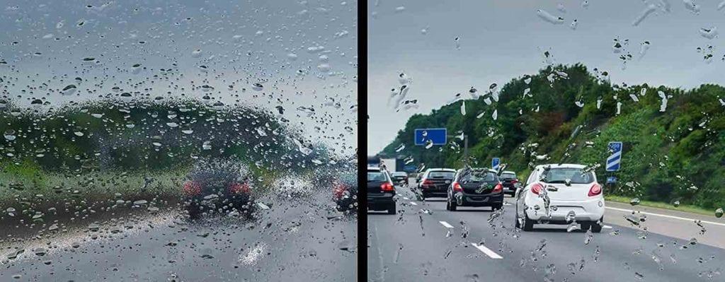 avis Test Anti Pluie Rain X Traitement hydrophobe