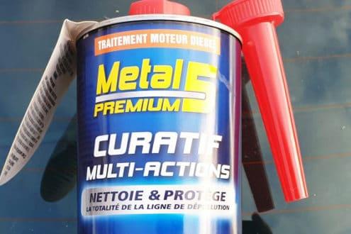 avis test essai additif nettoyant metal 5